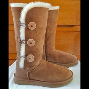 🍁🥧 NEW UGG Pure Triplet Chestnut boots